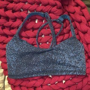 printed lululemon sports bra